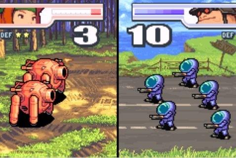 advanced wars red vs blue