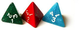 Four Sided Dice