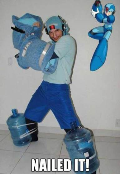 mega man bad cosplay