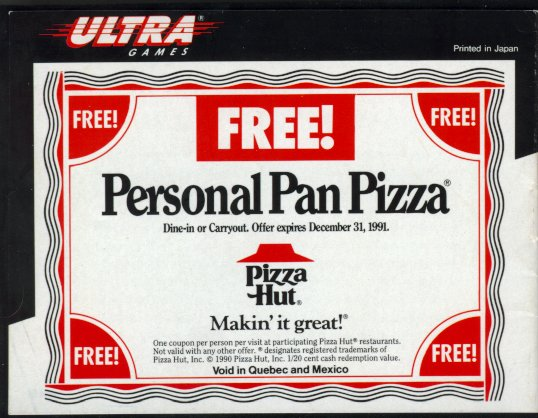 TMNT Pizza Coupon
