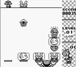 Yoshi GameBoy puzzle