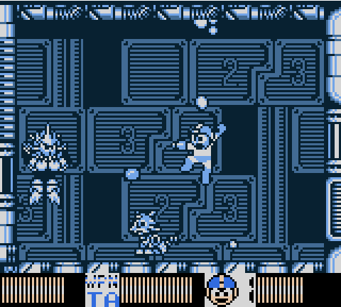 Mega Man V (the fifth one) do people read file names