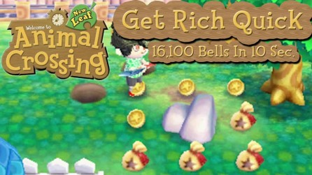 animal crossing get rich quick