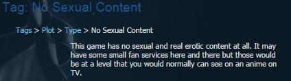 No Sexual Content