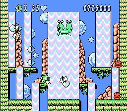 The Damn Forty-fifth Board from Bubble Bobble 2