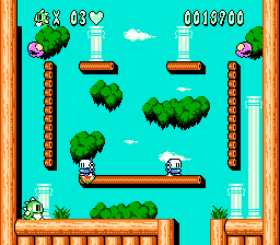 The Second Board from Bubble Bobble 2