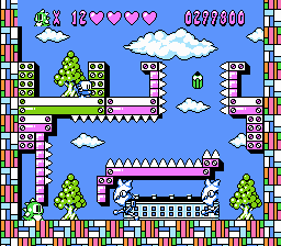 The Twenty Second Board from Bubble Bobble 2