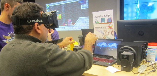 Indienomicon-Expo-2014-GameDev-Knights-Hollow-Oculus-Rift