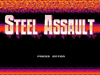 Steel-Assault-Title-Screen