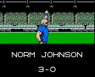 field goal 1 norm johnson