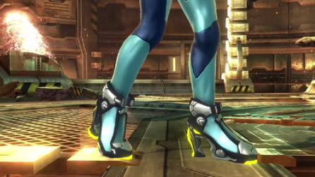 Like, why did we need these? Are heels really important for Samus in a fighting game?