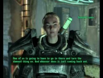 fallout 3 sacrifice sarah lyons