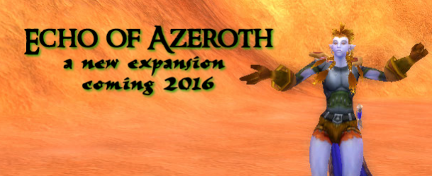 Echo of Azeroth banner
