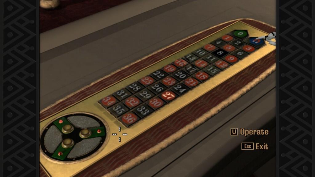 Grim Fandango Roulette Controls