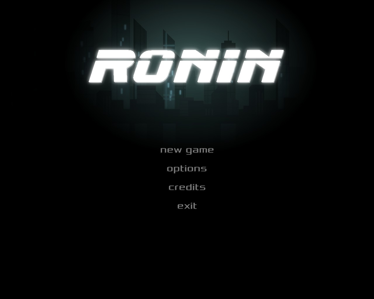Ronin, like the character from World Warcraft.