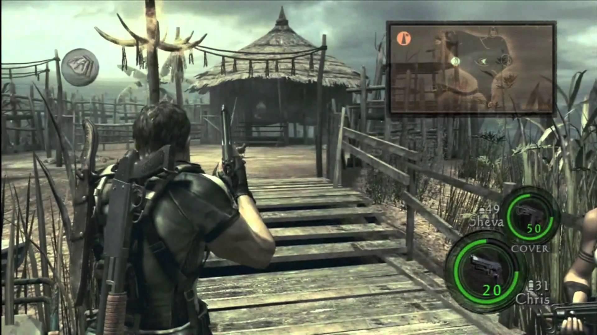 Resident Evil 5 Gameplay8 Gamecola