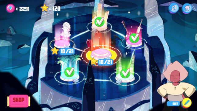 Steven Universe Soundtrack Attack Level Select Easy