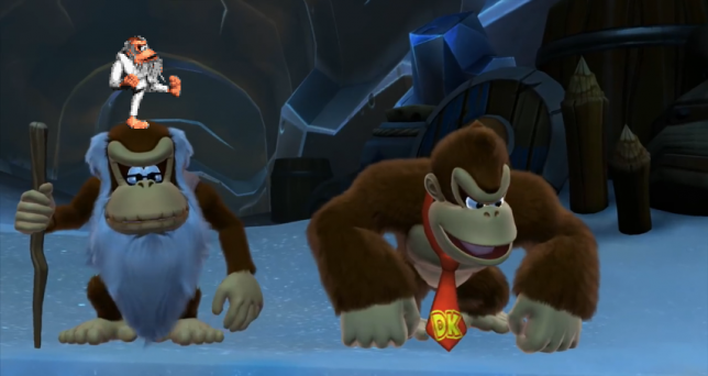 DKC Tropical Freeze Cranky On