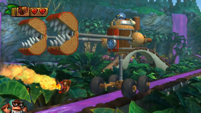 DKC Tropical Freeze Rocket Barrel