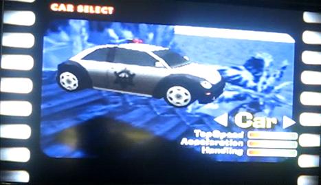 Beetle Adventure Racing Alien Car