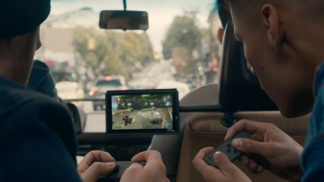 Playing-Nintendo-Switch-in-a-Vanagon