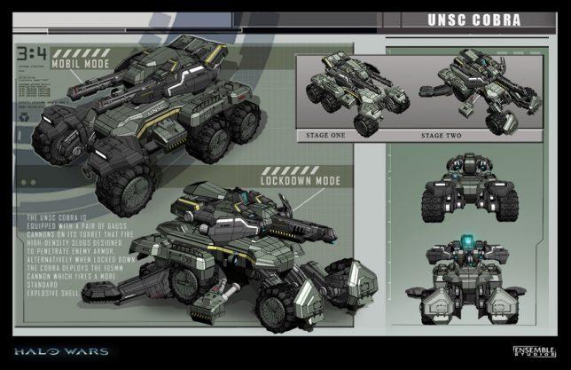 UNSC Cobra - concept art